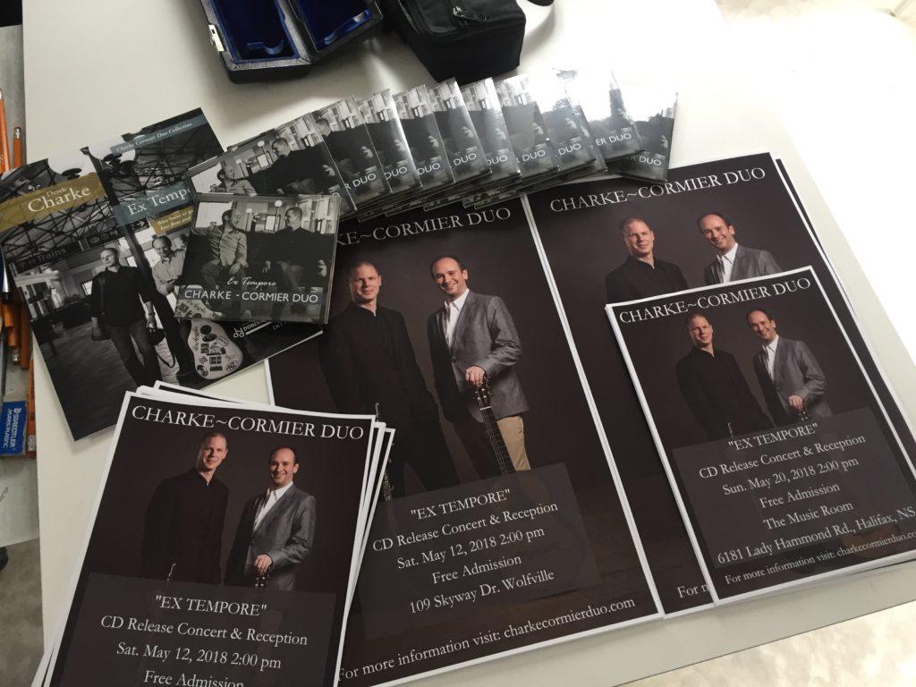 CD Materials – Charke ~ Cormier Duo